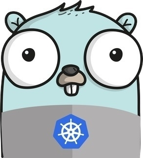 Gopher with Kubernetes T-Shirt
